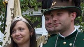 Proklamation des neuen Königspaares 2011