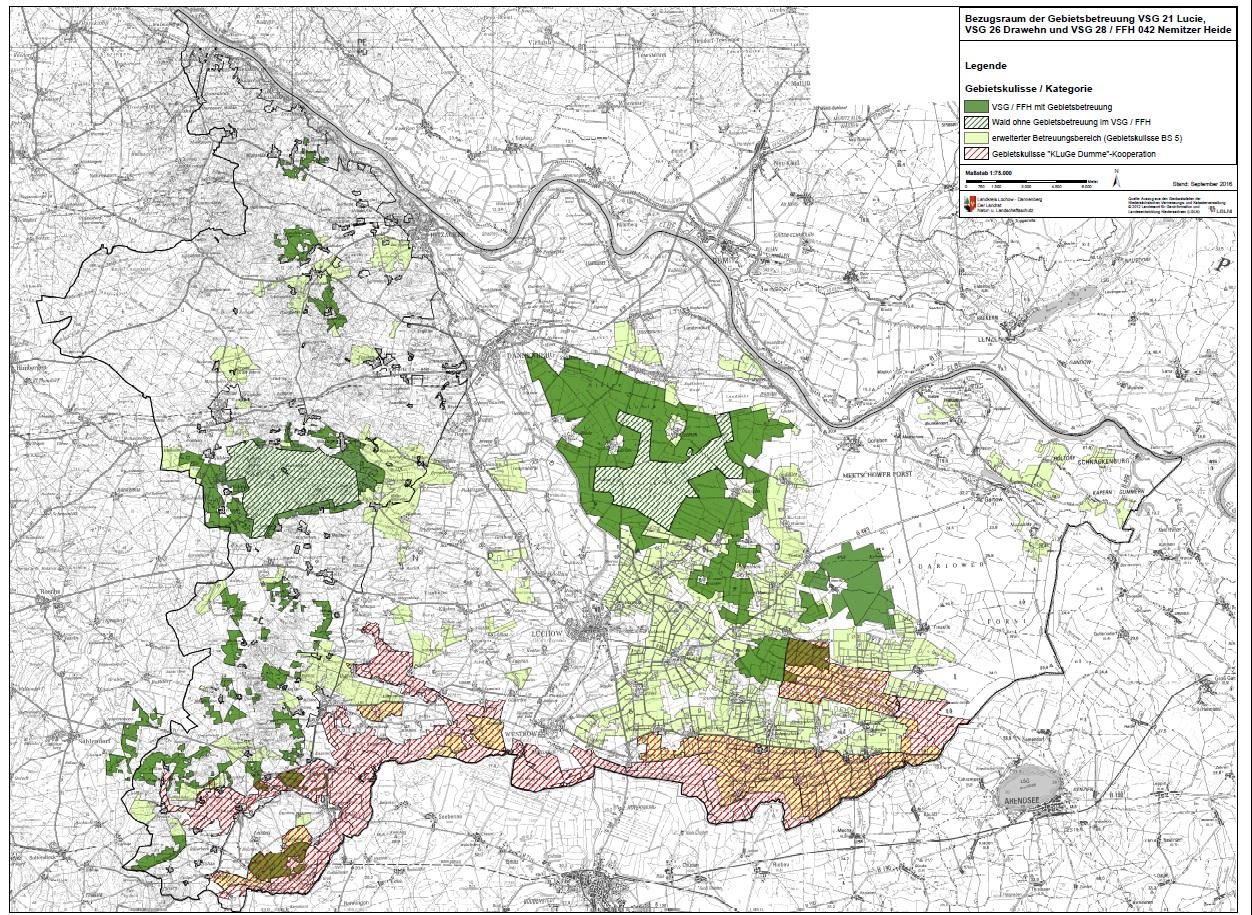 Kulturelle Landpartie Karte.Luchow Dannenberg Natur Und Landschaftsschutz