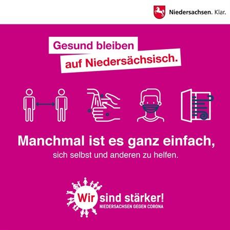 """Motiv der Kampagne """"Wir sind stärker"""" (Quelle: Nds. Staatskanzlei)"""